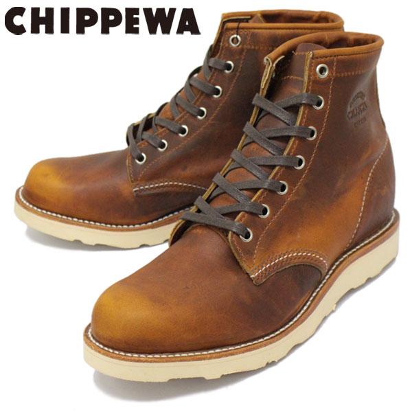 スーパーセール 正規取扱店 CHIPPEWA (チペワ) 1901M17 6inch SPORT BOOTS 6インチ プレーントゥ スポーツブーツ TAN