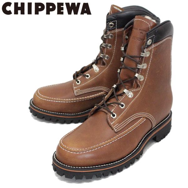 正規取扱店 CHIPPEWA (チペワ) 1969 ORIGINAL KUSH-N-KOLLAR BOOTS クッシュンカラーブーツ CHOCOLATE