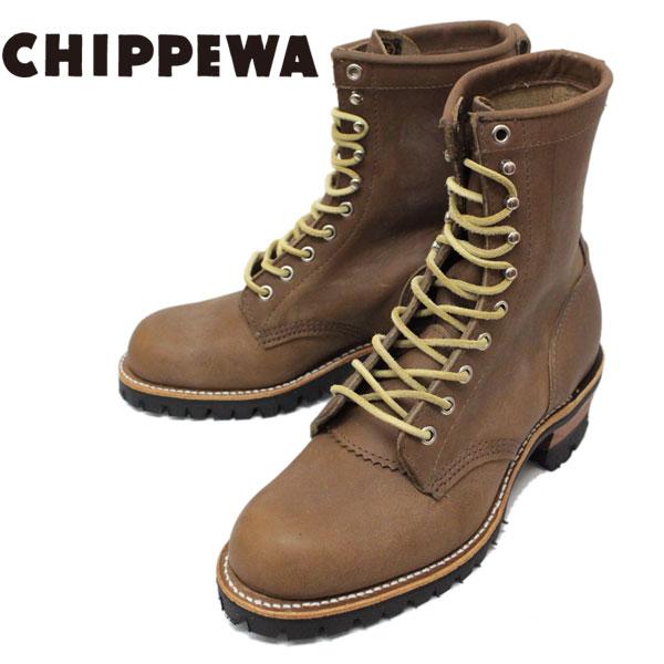 正規取扱店 CHIPPEWA (チペワ) 1957 ORIGINAL MOUNTAINEER BOOTS プレーントゥ マウンテニアリングブーツ MAPLE LEAF