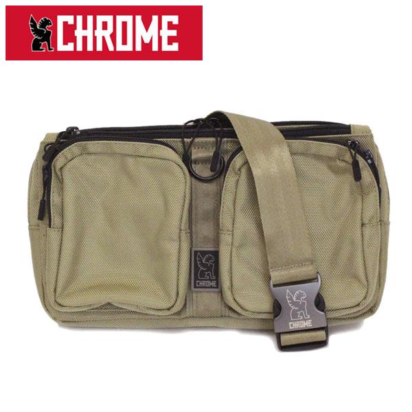 正規取扱店 CHROME (クローム クロム) BG-239 MXD NOTCH ノッチ ボディバッグ DUNE CH201