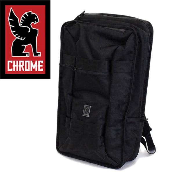 正規取扱店 CHROME (クローム クロム) BG231 HIGHTOWER (ハイタワー) バックパック ALL BLACK CH118