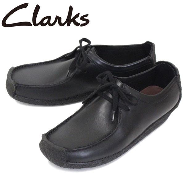 正規取扱店 Clarks (クラークス) 26133272 Natalie ナタリー メンズシューズ Black Leather CL001