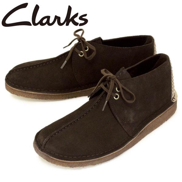 正規取扱店 Clarks (クラークス) 26138087 Desert Trek デザートトレック メンズシューズ Dark Brown CL006