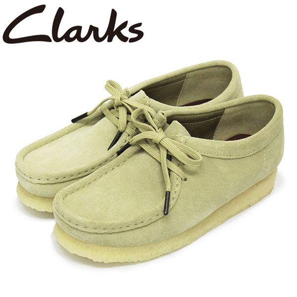 平日14時まで即日出荷可。正規取扱店BOOTSMAN(ブーツマン) 正規取扱店 Clarks (クラークス) 26155545 Wallabee ワラビー レディースシューズ Maple Suede CL044