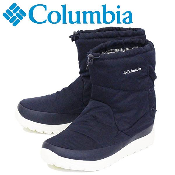 正規取扱店 Columbia (コロンビア) YU0276 スピンリールブーツ ウォータープルーフ オムニヒート 464 COLLEGIATE NAVY CLB004