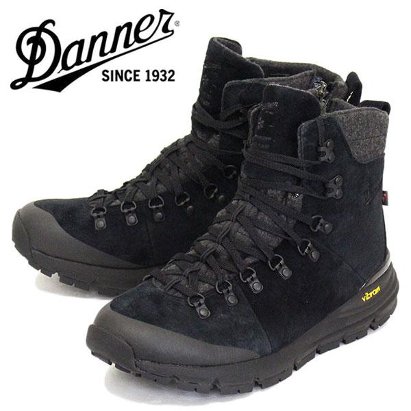 正規取扱店 DANNER (ダナー) 67331 Arctic 600 Side-Zip 7 200G アークティック サイドジップ ブーツ JET / BLACK