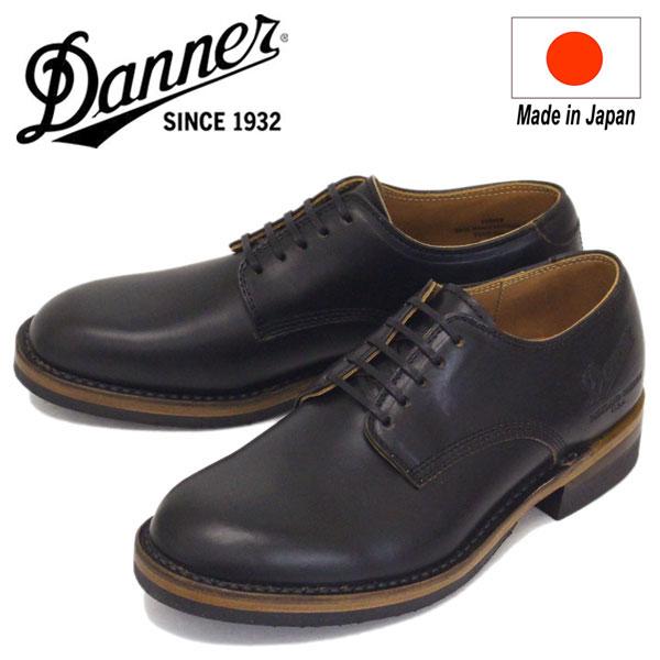 正規取扱店 DANNER (ダナー) D-1856 Manawa マナワ オックスフォードシューズ Black 日本製