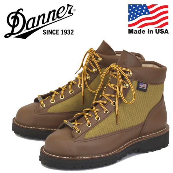 正規取扱店 DANNER (ダナー) 30440 DANNER LIGHT ダナーライト ブーツ Khaki アメリカ製
