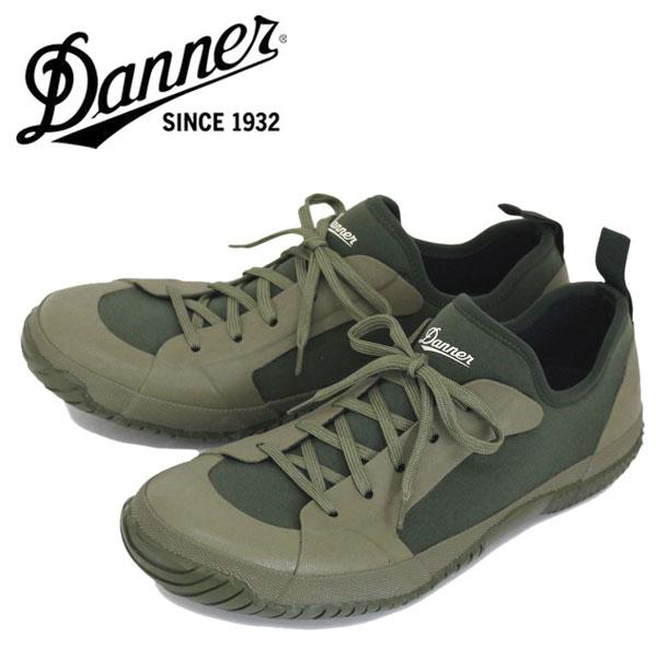 正規取扱店 DANNER (ダナー) D219104 WRAPTOP3 (ラップトップ) レインシューズ OLIVE
