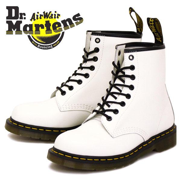 正規取扱店 Dr.Martens ドクターマーチン 1460 8EYE BOOTS 8ホールブーツ WHITE ホワイト