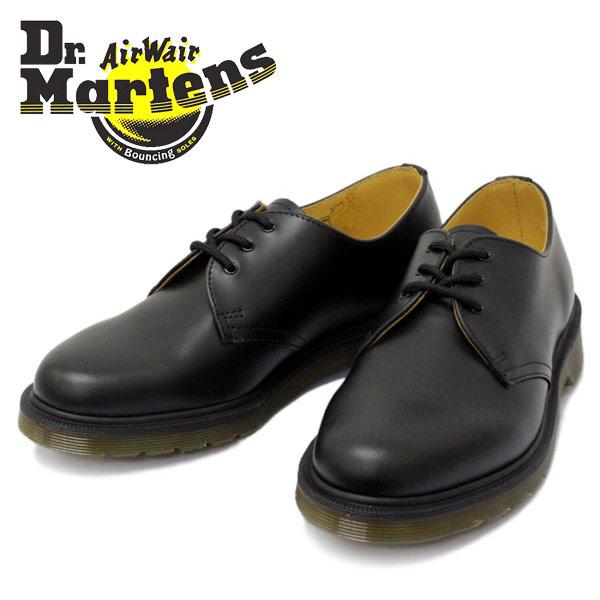 正規取扱店 Dr.Martens(ドクターマーチン) 1461 DMS 84 3EYE GIBSON 3ホールブーツ ギブソン BLACK SMOOTH ブラック