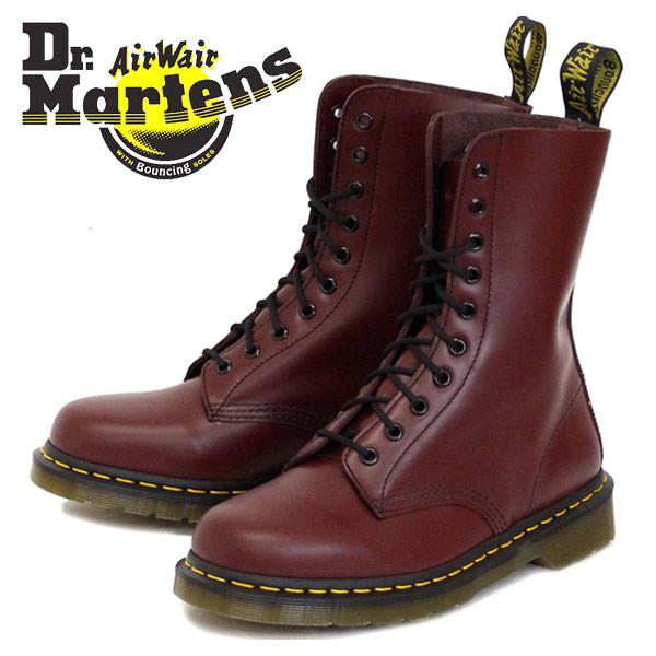 正規取扱店 Dr.Martens ドクターマーチン 1490 10EYE BOOTS 10ホールブーツ CHERRY RED チェリーレッド
