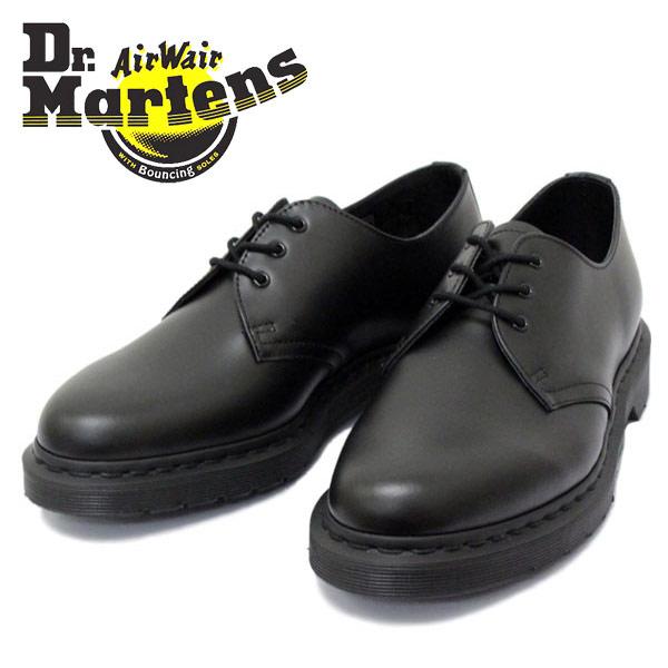 正規取扱店 Dr.Martens(ドクターマーチン) CORE 1461 MONO 3EYE SHOE 3ホールブーツ BLACK SMOOTH ブラック
