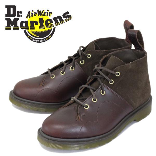 正規取扱店 Dr.Martens (ドクターマーチン) CHURCH 7EYE MONKEY BOOT (チャーチ モンキーブーツ) Charro / Dark Brown