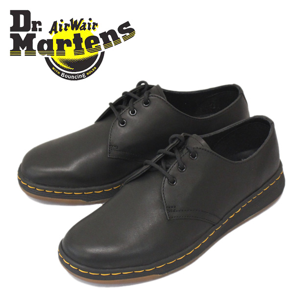 正規取扱店 Dr.Martens (ドクターマーチン) CAVENDISH 3EYE SHOE (カヴェンディッシュ 3ホール シューズ) Black