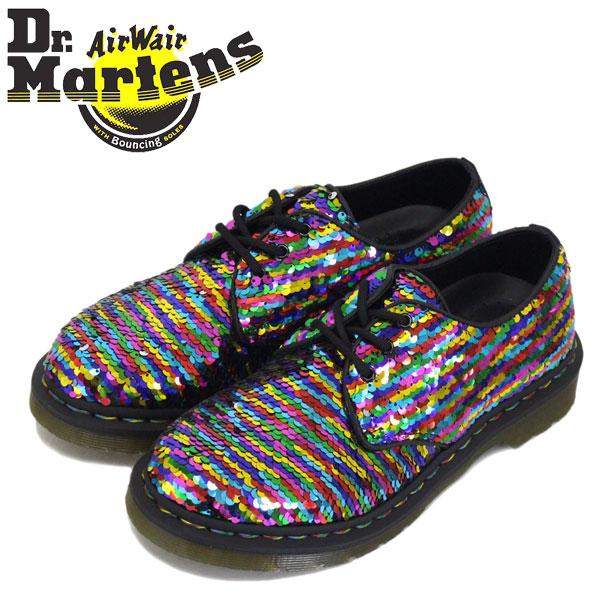 sequin dr martens rainbow