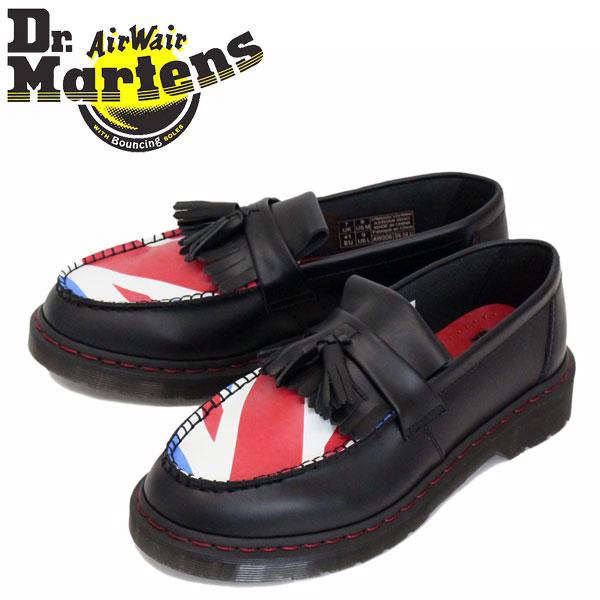 正規取扱店 Dr.Martens (ドクターマーチン) 25270001 ADRIAN WHO ザ・フー エイドリアン タッセル ローファー レザーシューズ BLACK