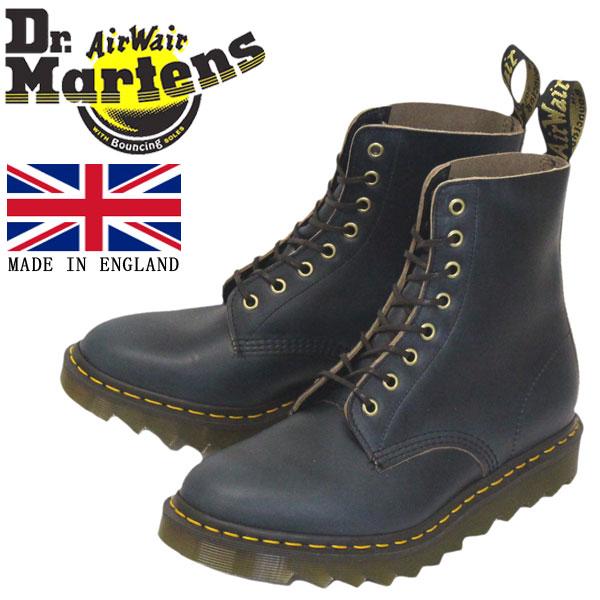 正規取扱店 Dr.Martens (ドクターマーチン) 25577493 1460 8EYE PASCAL RIPPLE パスカル リップル クロームエクセルレザー ブーツ NAVY イングランド製