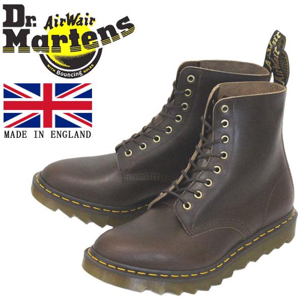 正規取扱店 Dr.Martens (ドクターマーチン) 25577707 1460 8EYE PASCAL RIPPLE パスカル リップル クロームエクセルレザー ブーツ DARK BROWN イングランド製
