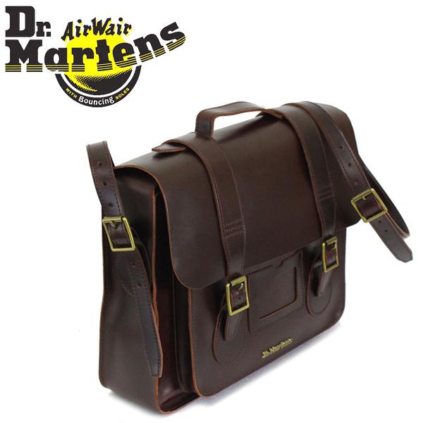 6d486baefe Regular dealer Dr.Martens (doctor Martin) AB095230 15 inches Leather Satchel  Bag leather ...
