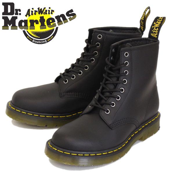 正規取扱店 Dr.Martens (ドクターマーチン) 1460 WINTERGRIP 8ホール レザーブーツ SNOWPLOW WP BLACK