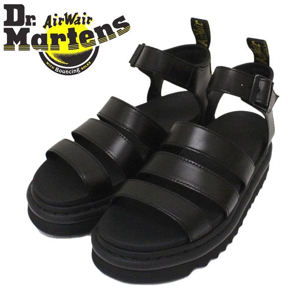 正規取扱店 Dr.Martens (ドクターマーチン) 24191001 WMS BLAIRE ブレアー ストラップ レディース レザーサンダル BLACK