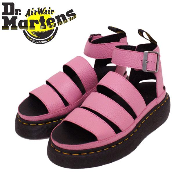 正規取扱店 Dr.Martens (ドクターマーチン) 24476687 WMS CLARISSA 2 QUAD クラリッサ レディース ストラップ レザーサンダル SOFT PINK