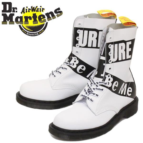 正規取扱店 Dr.Martens (ドクターマーチン) 24785100 1490 SEX PISTOLS セックス・ピストルズ 10H レザーブーツ WHITE