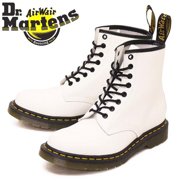 正規取扱店 Dr.Martens (ドクターマーチン) 11822100 1460 8EYE スムースレザー ブーツ WHITE