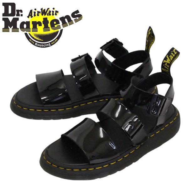 正規取扱店 Dr.Martens (ドクターマーチン) 25515001 GRYPHON グリフォン パテントランパー レザーサンダル BLACK