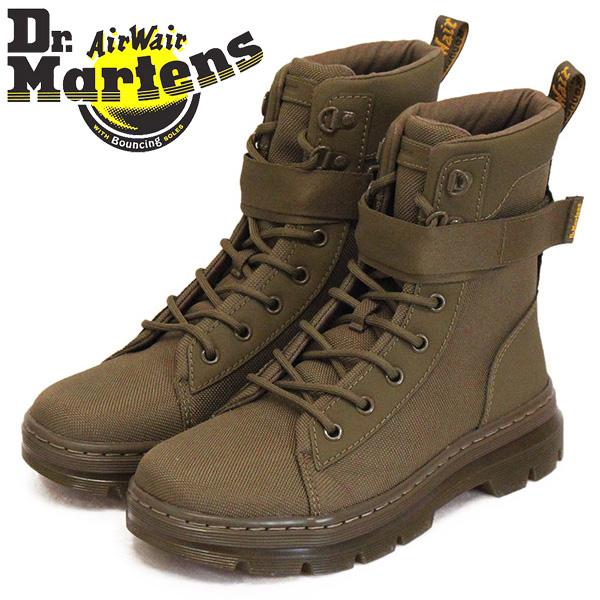 正規取扱店 Dr.Martens (ドクターマーチン) WMS 25617355 COMBS W TECH コム テック 8ホール レディース ブーツ DMS OLIVE