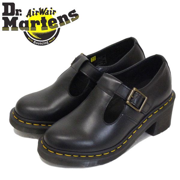 正規取扱店 Dr.Martens (ドクターマーチン) 25657001 WMS SOPHIA T-BAR ソフィア バックル レディース レザーブーツ BLACK