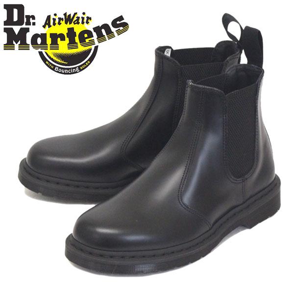 正規取扱店 Dr.Martens (ドクターマーチン) 25685001 2976 MONO チェルシー サイドゴア ブーツ BLACK
