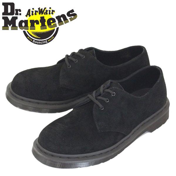 正規取扱店 Dr.Martens (ドクターマーチン) 25699001 1461 MONO 3ホール ヌバックレザー シューズ BLACK