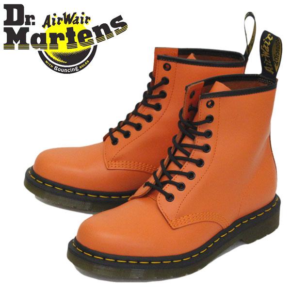 正規取扱店 Dr.Martens (ドクターマーチン) 25714659 1460 8EYE レザーブーツ ORANGE