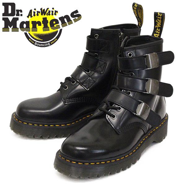 正規取扱店 Dr.Martens (ドクターマーチン) 25752001 FENIMORE フェニモア 8ホール レザーブーツ BLACK