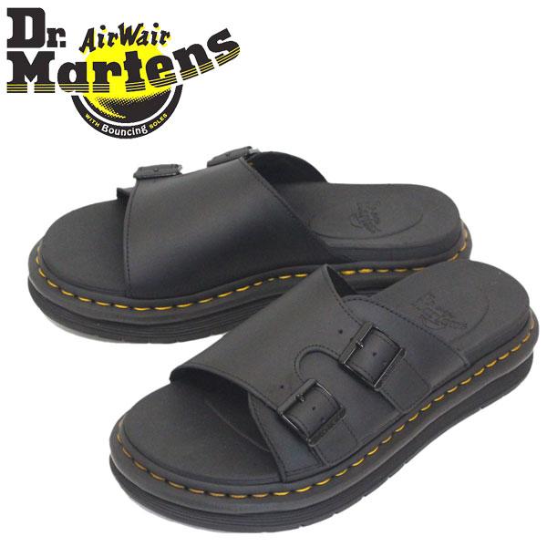 正規取扱店 Dr.Martens (ドクターマーチン) 25764001 DAX 2ストラップ レザーサンダル BLACK