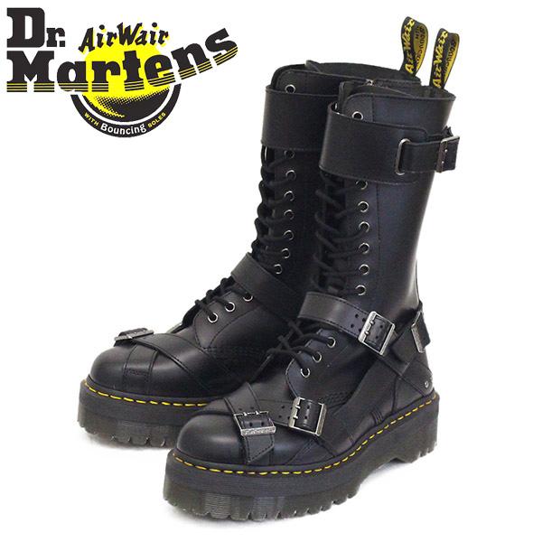 正規取扱店 Dr.Martens (ドクターマーチン) 25774001 1914 QUAD STRAP 14ホール ストラップ レザーブーツ BLACK