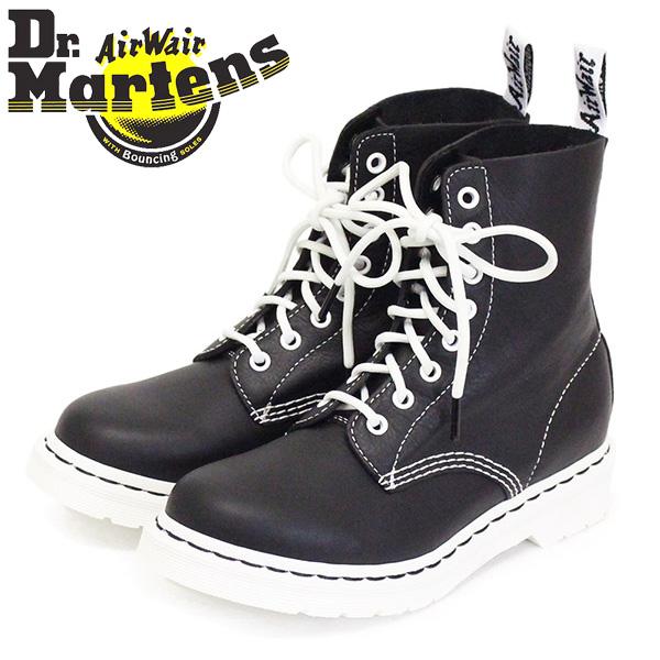 正規取扱店 Dr.Martens (ドクターマーチン) WMS 25817001 1460 PASCAL BLACK&WHITE パスカル 8ホール レディース レザーブーツ BLACK