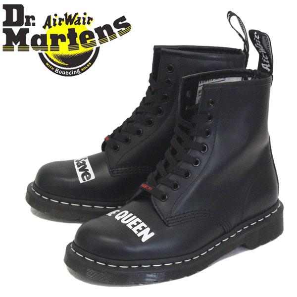 正規取扱店 Dr.Martens (ドクターマーチン) 25927001 1460 8EYE SEX PISTOLS セックスピストルズ レザーブーツ BLACK