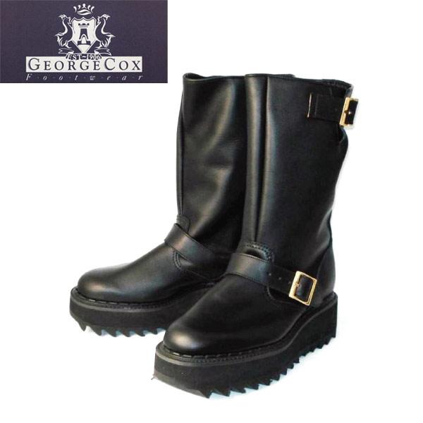 正規取扱店 666 George Coxジョージコックス 7409 Ripple Sole Engineer Boots リップルソールエンジニアブーツ