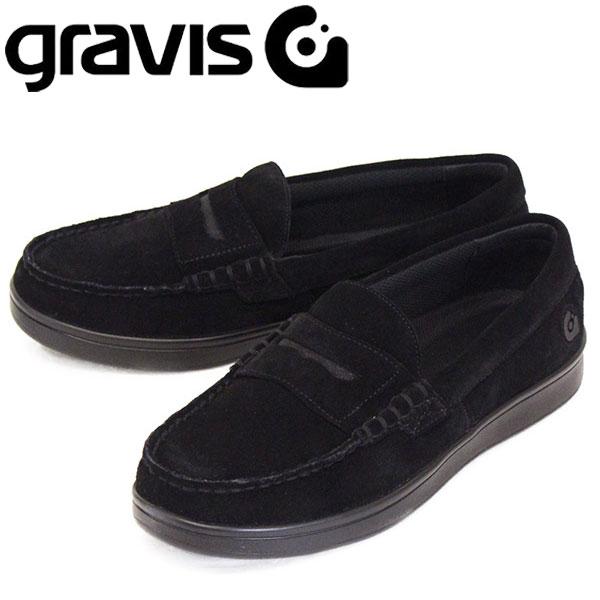 正規取扱店 gravis (グラビス) 25220 ODJICK オジェック リッポン スニーカー BLACK GRV012