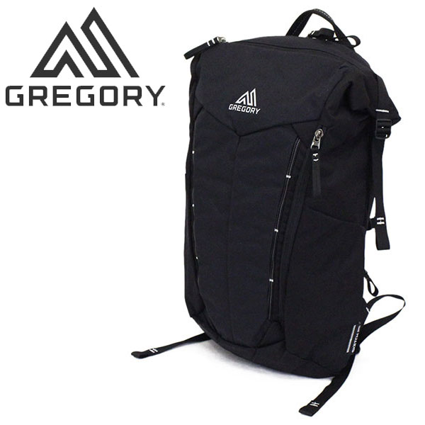 正規取扱店 GREGORY (グレゴリー) スケッチ25 デイパック リュックサック 1094521052-ブラック/カーボン GY051