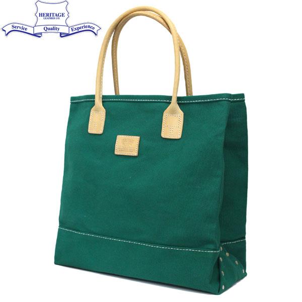 正規取扱店 HERITAGE LEATHER CO.(ヘリテージレザー) NO.7717 Tote Bag(トートバッグ) Green/Green HL130
