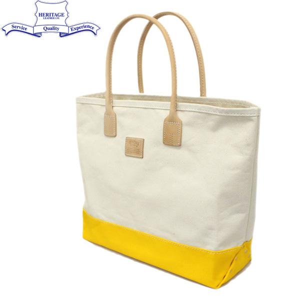 正規取扱店 HERITAGE LEATHER CO.(ヘリテージレザー) NO.7717 Tote Bag(トートバッグ) Natural/Yellow HL140
