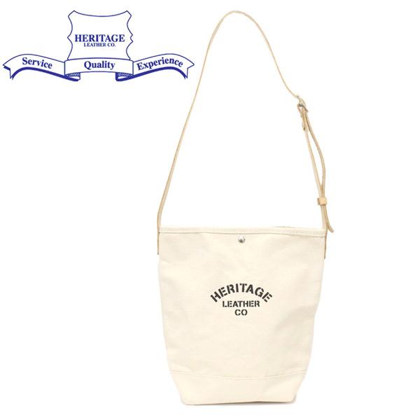 正規取扱店 HERITAGE LEATHER CO.(ヘリテージレザー) NO.8105 Bucket Shoulder Bag バケットショルダーバッグ Natural/Natural HL223