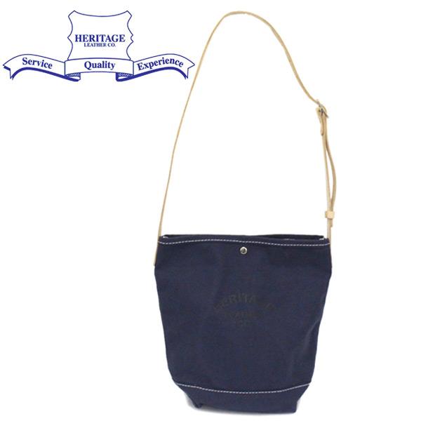 正規取扱店 HERITAGE LEATHER CO.(ヘリテージレザー) NO.8105 Bucket Shoulder Bag バケットショルダーバッグ Navy/Navy HL224