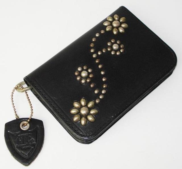 正規取扱店 HTC(Hollywood Trading Company) #24 TYPE 2 MEDIUM WALLET(タイプ2ミディアムウォレット)ブラック 財布