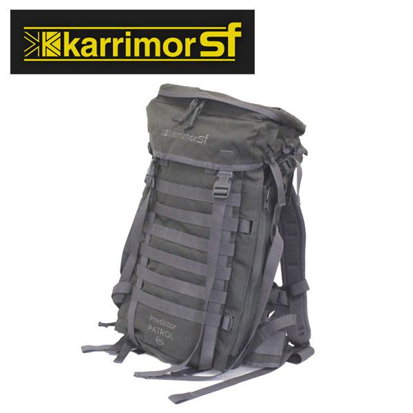 正規取扱店 karrimor SF (カリマースペシャルフォース) M012G1 PREDATOR PATROL プレデターパトロール 45 PLCE/MODULAR バックパック GREY KM041