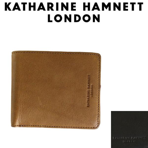 正規取扱店 KATHARINE HAMNETT LONDON (キャサリンハムネット ロンドン) 490-57003 Soft 札入れ 二つ折り財布 全2色